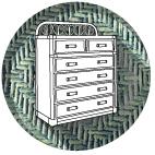 Комоды, этажерки, шкафы
